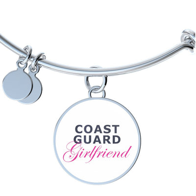 Coast Guard Girlfriend - Bangle Bracelet - Unique Gifts Store