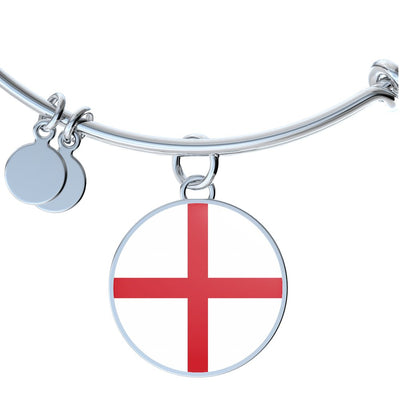 English Flag - Bangle Bracelet