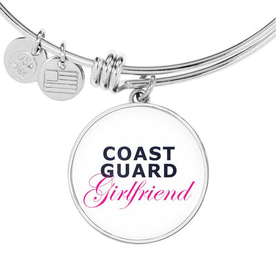 Coast Guard Girlfriend - Bangle Bracelet