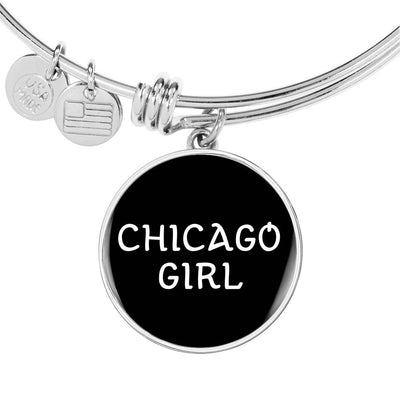 Chicago Girl v1 - Bangle Bracelet