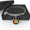 Zodiac Sign Capricorn - Bangle Bracelet