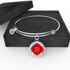 Root Chakra (Muladhara) v2 - Bangle Bracelet