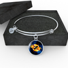 Zodiac Sign Pisces - Bangle Bracelet