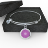 Crown Chakra (Sahasrara) v2 - Bangle Bracelet
