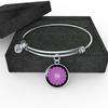 Crown Chakra (Sahasrara) - Bangle Bracelet