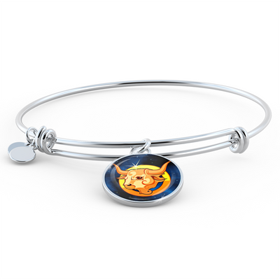 Zodiac Sign Taurus - Bangle Bracelet - Unique Gifts Store