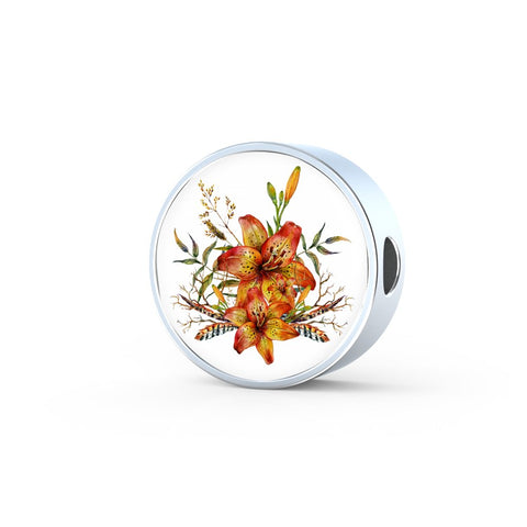 Tiger Lily Bouquet v4 - Luxury Charm