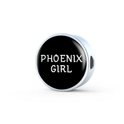 Phoenix Girl - Luxury Charm