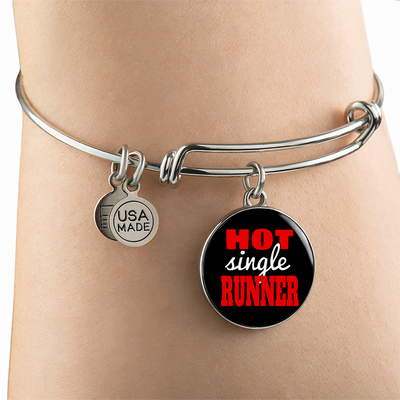 Hot Single Runner - Bangle Bracelet