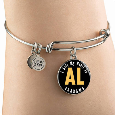 Heart In Alabama - Bangle Bracelet