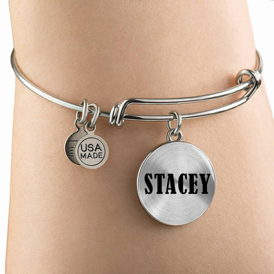 Stacey v01 - Bangle Bracelet