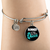 Running Queen - Bangle Bracelet