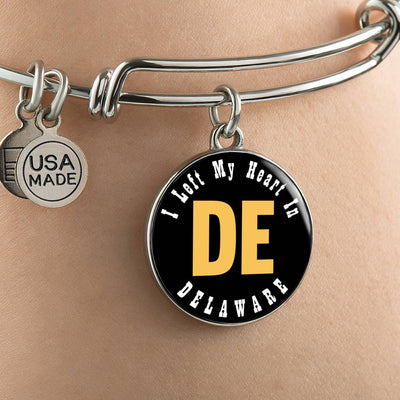 Heart In Delaware - Bangle Bracelet