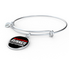 Runner With An Attitude - Bangle Bracelet