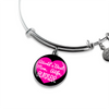 World's Best Mom, Wife, Runner - Bangle Bracelet