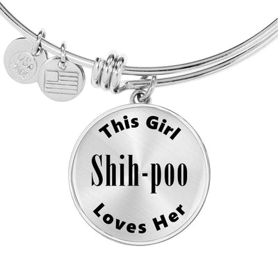 Shih-poo - Bangle Bracelet