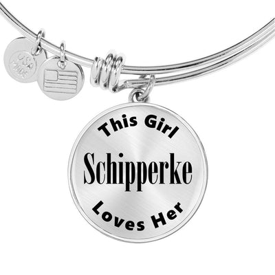 Schipperke - Bangle Bracelet