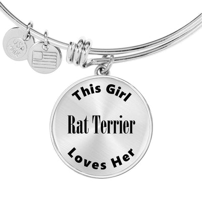 Rat Terrier - Bangle Bracelet