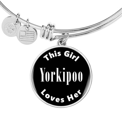Yorkipoo v2 - Bangle Bracelet