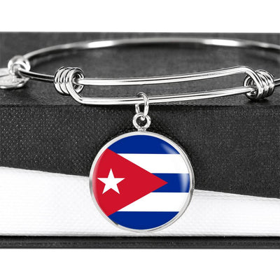 Cuban Flag - Bangle Bracelet