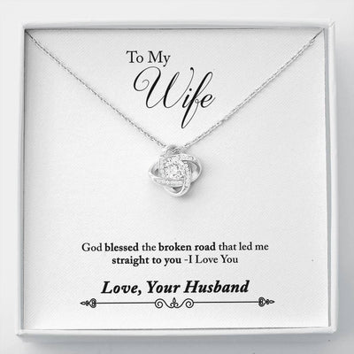 002 - To Wife From Husband - Love Knot Necklace
