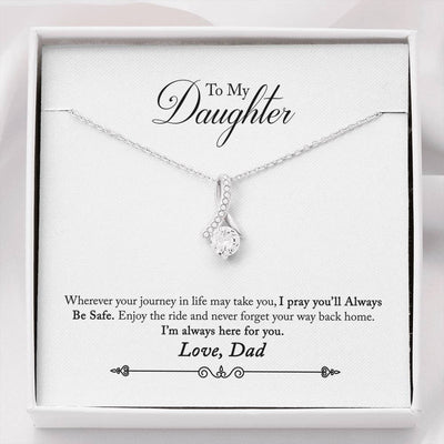 030 - To Daughter From Dad - Alluring Beauty Necklace