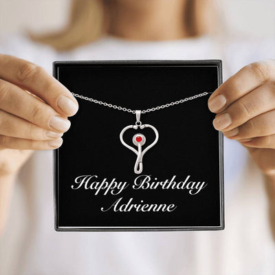 Happy Birthday Adrienne v2 - Stethoscope Necklace