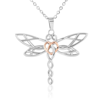 001 - To Wife From Husband - Dragonfly Dreams Necklace