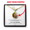 005 - To Wife From Husband - Buyer Upload 18k Gold Finished Luxury Necklace