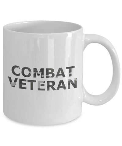 Combat Veteran - 11oz Mug - Unique Gifts Store