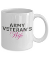 Army Veteran's Wife - 11oz Mug - Unique Gifts Store
