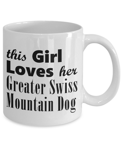 Greater Swiss Mountain Dog - 11oz Mug - Unique Gifts Store