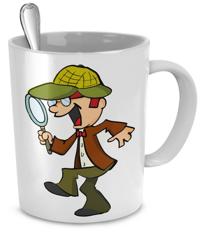 Detective - 11oz Mug - Unique Gifts Store