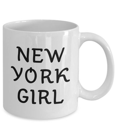 New York Girl - 11oz Mug - Unique Gifts Store