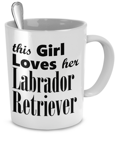 Labrador Retriever - Mug - Unique Gifts Store
