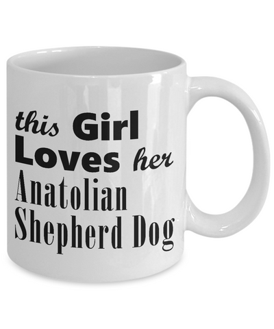 Anatolian Shepherd Dog - 11oz Mug