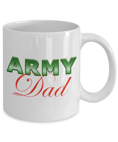 Army Dad - 11oz Mug - Unique Gifts Store