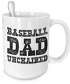 Baseball Dad - 15oz Mug - Unique Gifts Store