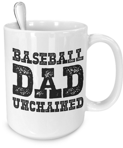Baseball Dad - 15oz Mug