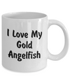 Love My Gold Angelfish - 11oz Mug