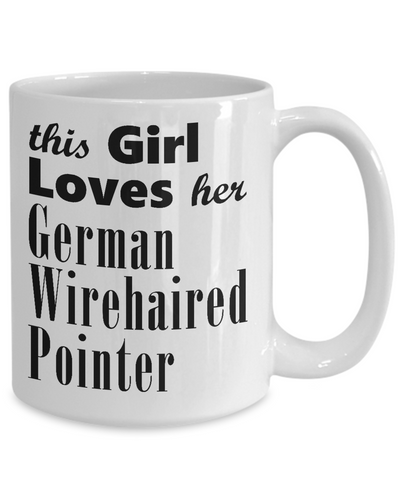 German Wirehaired Pointer - 15oz Mug