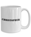 Christopher - 15oz Mug