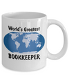 World's Greatest Bookkeeper - 11oz Mug - Unique Gifts Store