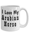 Love My Arabian Horse - 15oz Mug