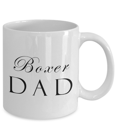 Boxer Dad - 11oz Mug - Unique Gifts Store