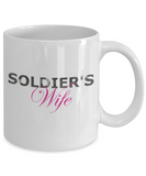 Soldier's Wife - 11oz Mug - Unique Gifts Store