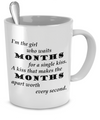 A Single Kiss - Mug - Unique Gifts Store