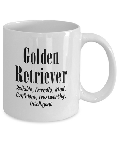 The Golden Retriever - 11oz Mug