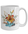 Tiger Lily Bouquet - 15oz Mug - Unique Gifts Store
