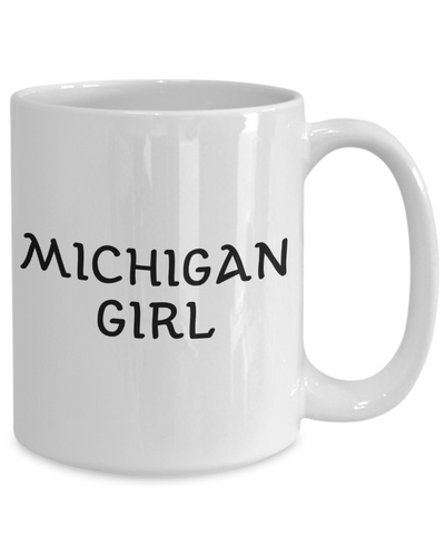 Michigan Girl - 15oz Mug
